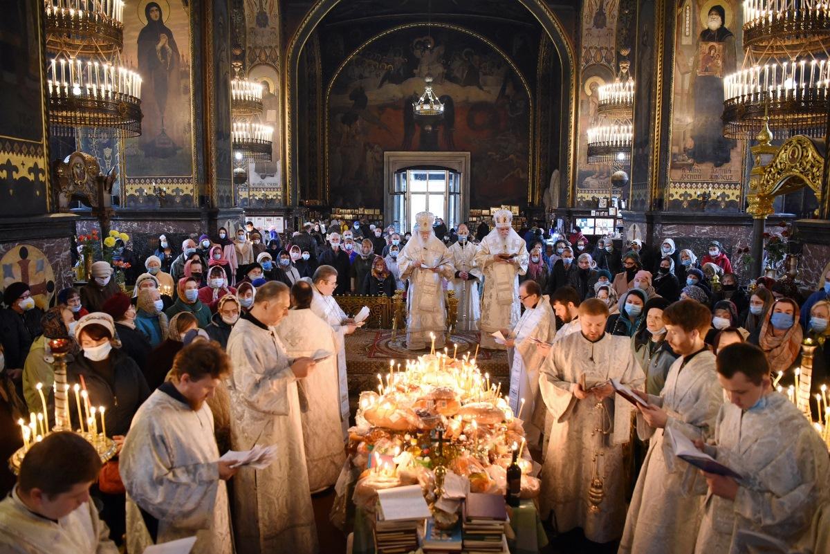 Богослужіння у Димитрівську поминальну суботу