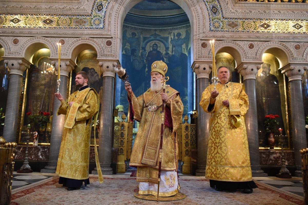 Патріарше богослужіння у неділю 22-гу після П'ятидесятниці