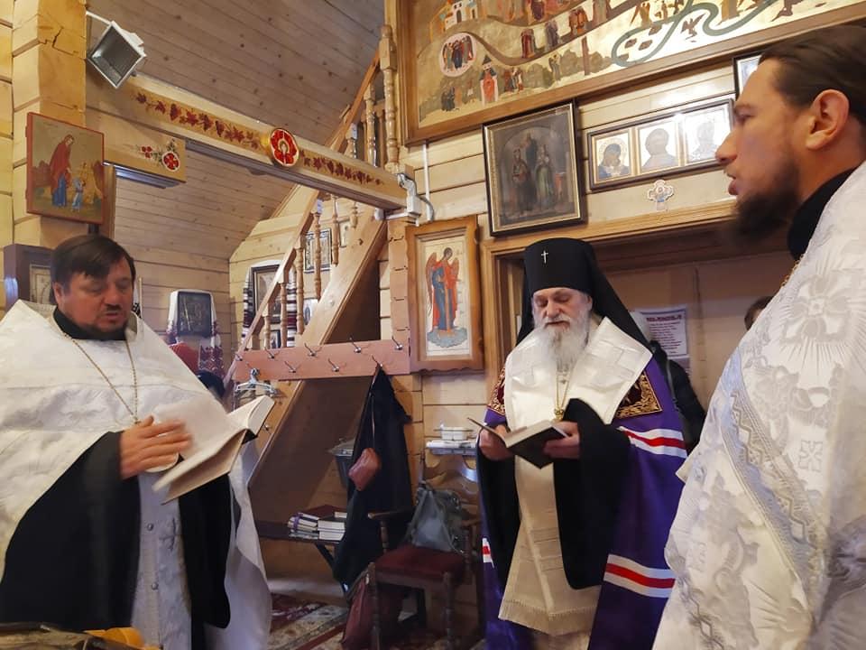 Молитва за упокій душі новопреставленого протоієрея Сергія Станкевича