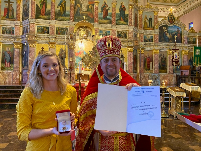 Патріарх Філарет відзначив церковними нагородами громаду Філадельфії