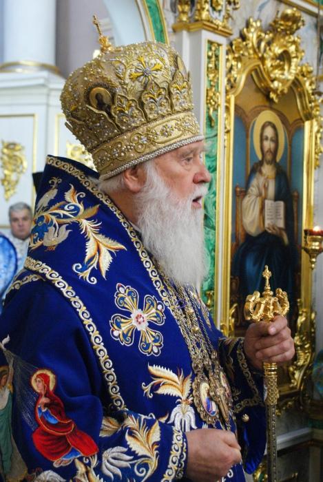Проповідь Патріарха Філарета у свято Введення в храм Пресвятої Діви Марії