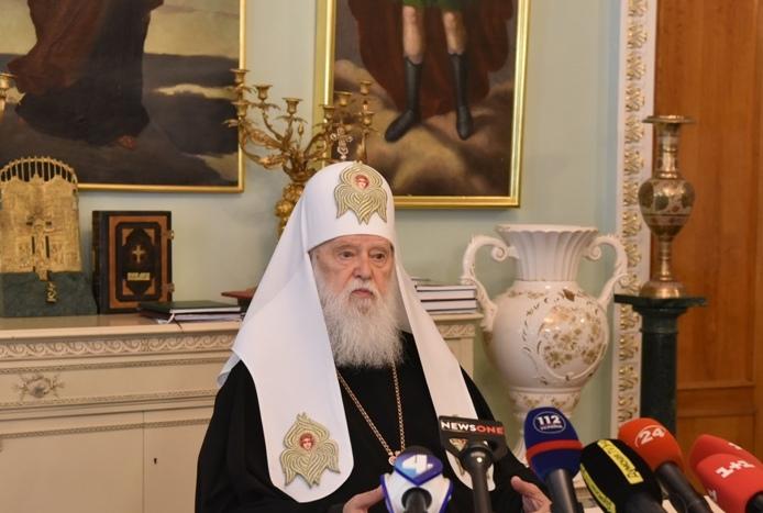 Святійший Патріарх Філарет прокоментував питання церковного календаря (ВІДЕО)