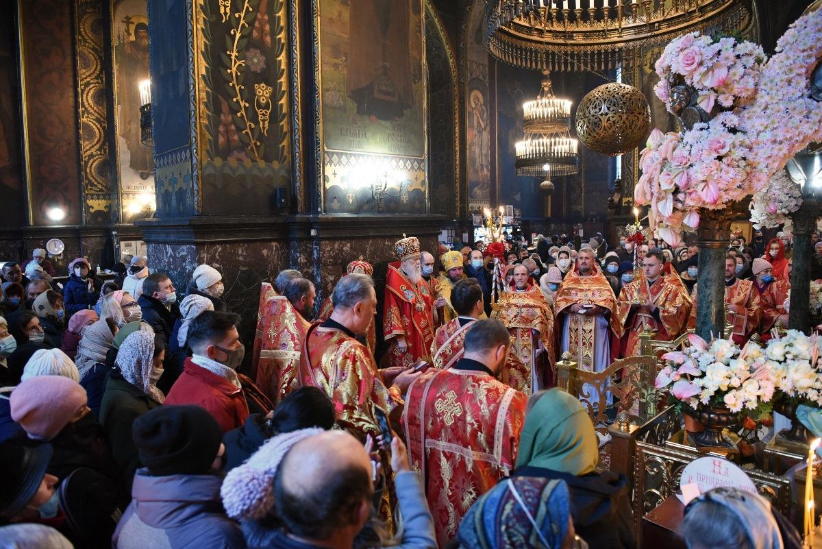 Святкове богослужіння в день пам'яті святої великомучениці Варвари