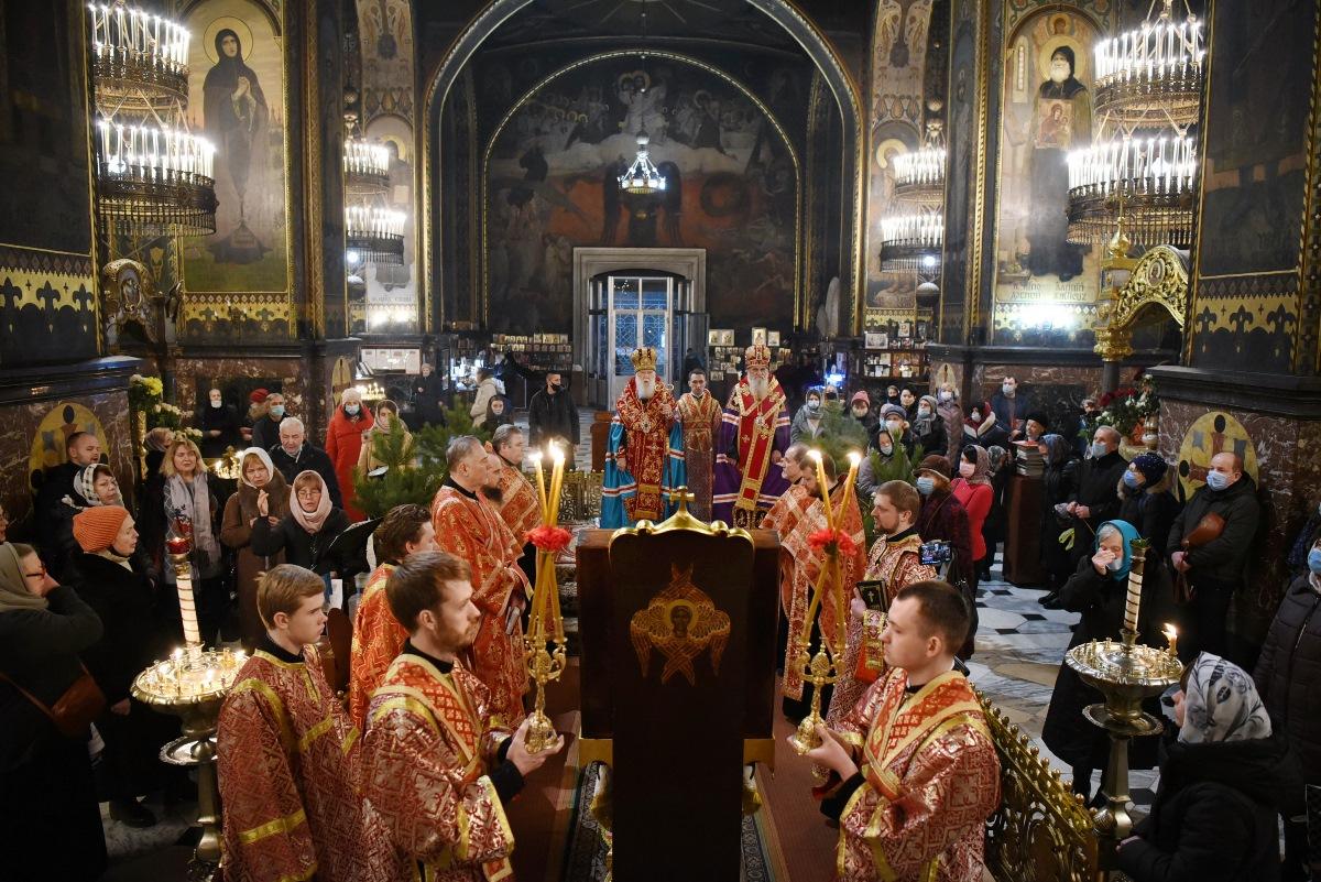 """""""Ми повинні дякувати Богові за всі ті благодіяння, які Господь послав нам у минулому році"""" – Патріарх Філарет"""