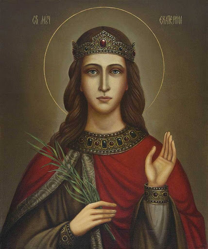 7 грудня день пам'яті святої великомучениці Катерини
