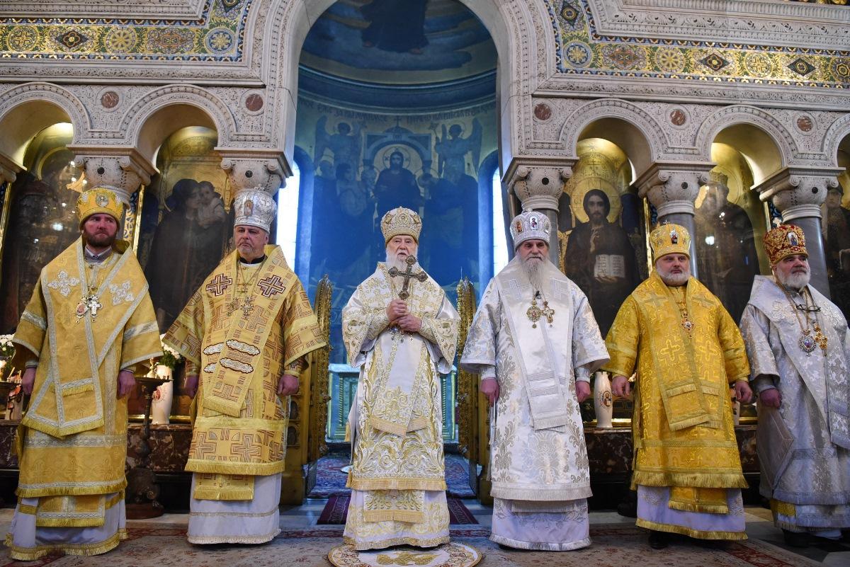 Святкове богослужіння з нагоди дня народження Святійшого Патріарха Філарета