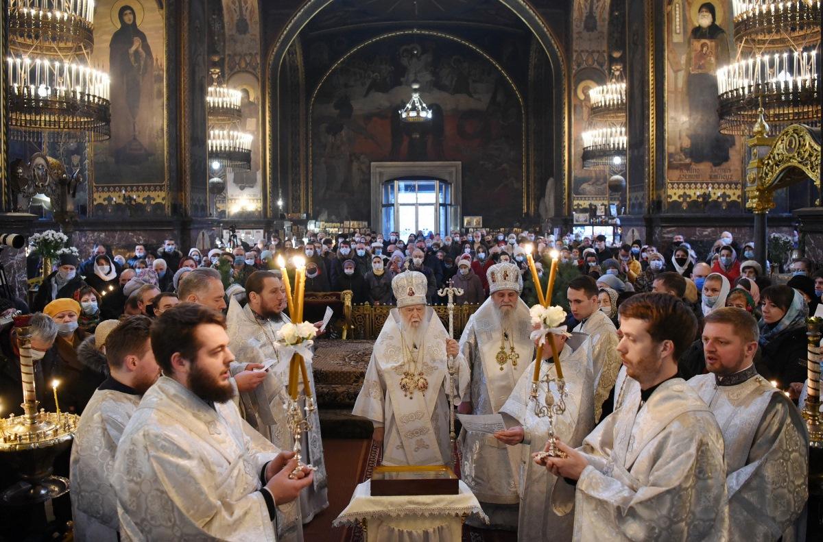 Святійший Патріарх Філарет очолив Різдвяне богослужіння