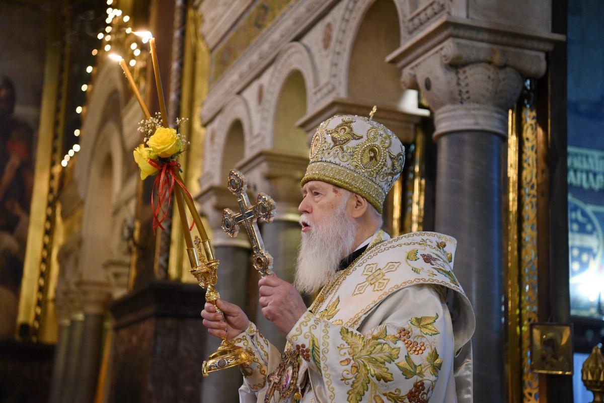 Патріарше богослужіння у день свята Обрізання Господнього