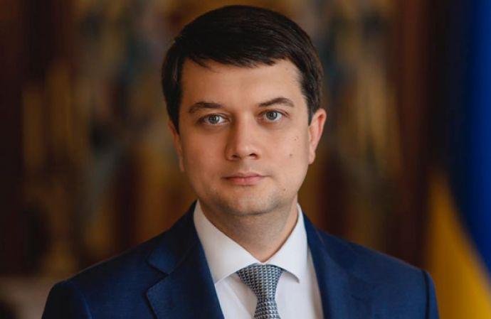 Голова Верховної Ради Дмитро Разумков привітав Патріарха Філарета з днем народження