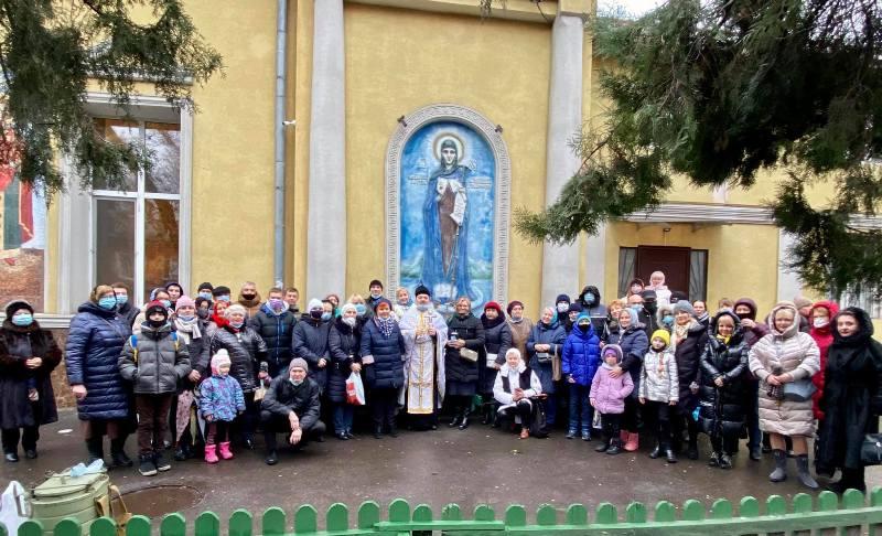 Громада храму Різдва Христового в Одесі відзначила храмове свято просто неба