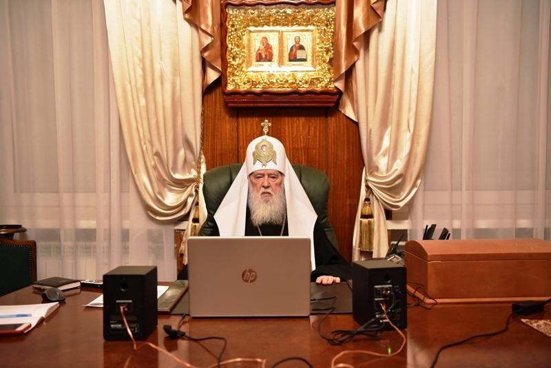 Патріарх Філарет очолив збори Вікаріату Української Православної Церкви Київського Патріархату в США та Канаді