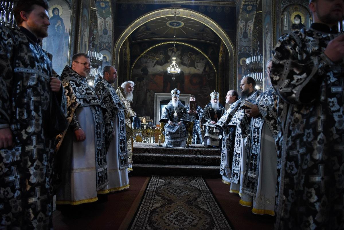 Патріарше богослужіння у Великий понеділок