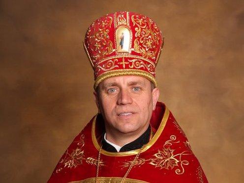 Патріарх Філарет привітав протоієрея Богдана Згобу з 45-річчям від дня народження