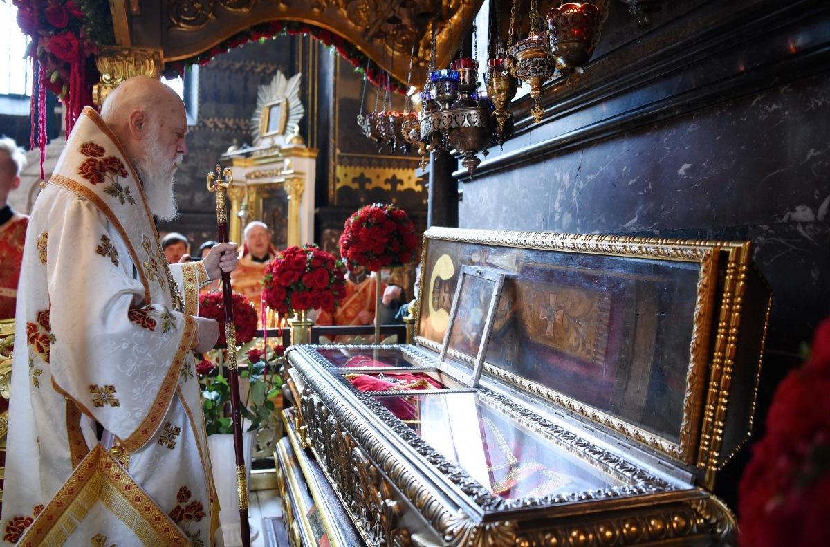 У день пам'яті священномученика Макарія Церква відсвяткувала 55-річчя служіння Патріарха Філарета на Київській кафедрі