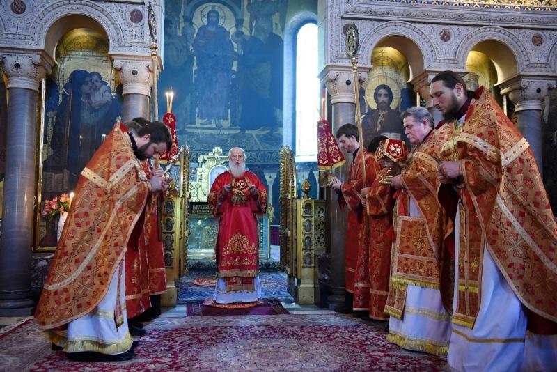 Патріарше богослужіння у неділю святих жінок-мироносиць