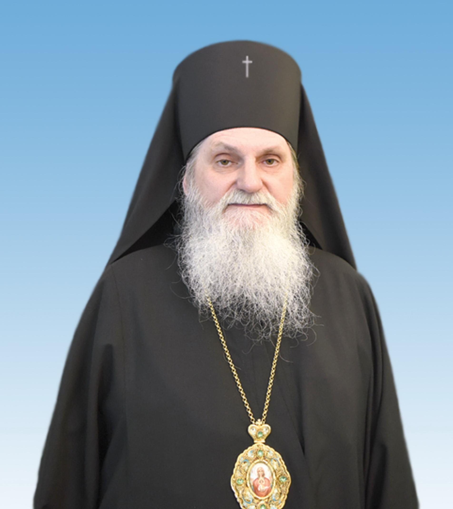 Патріарх Філарет привітав архієпископа Переяславського і Білоцерківського Андрія з 60-річчям від Дня народження