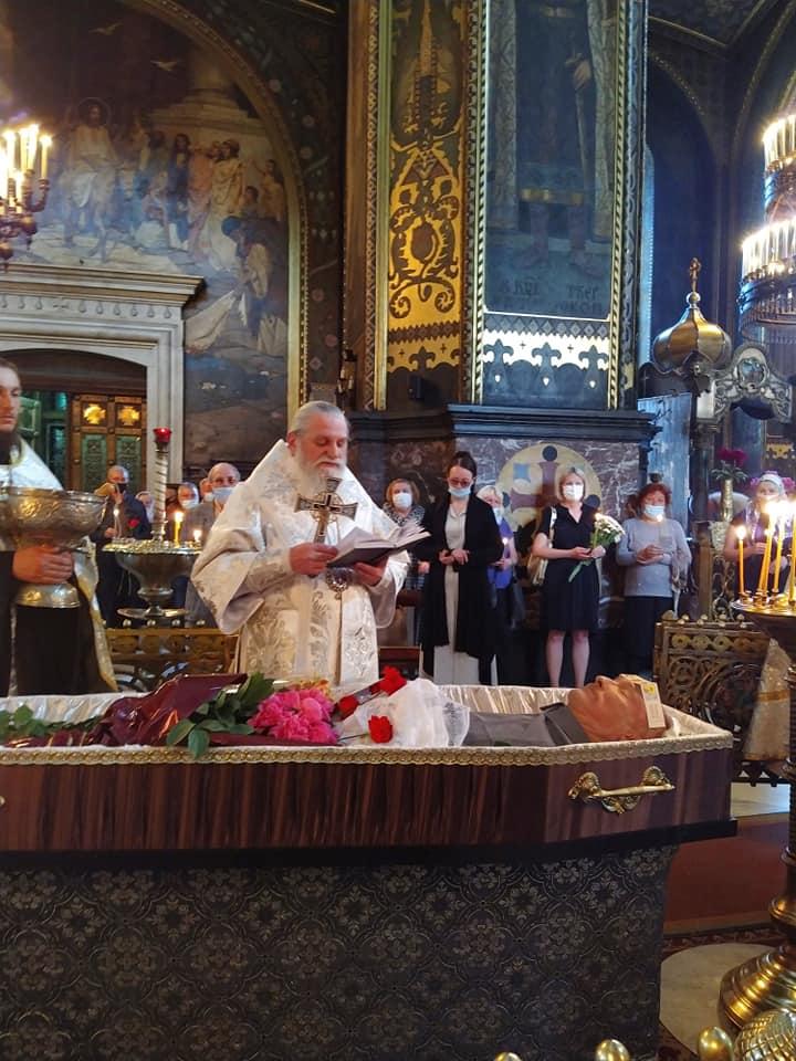 У Володимирському соборі відбулося відспівування Георгія Матвієнка