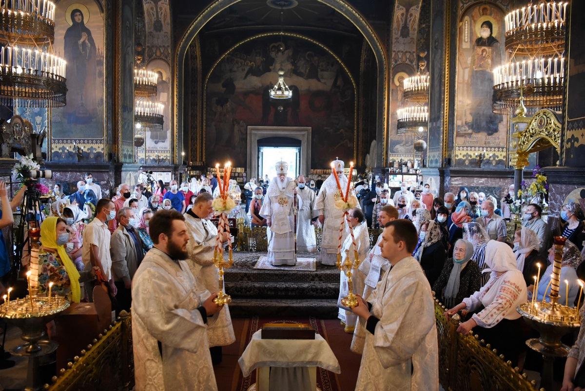 Патріарше богослужіння у день свята Вознесіння Господнього