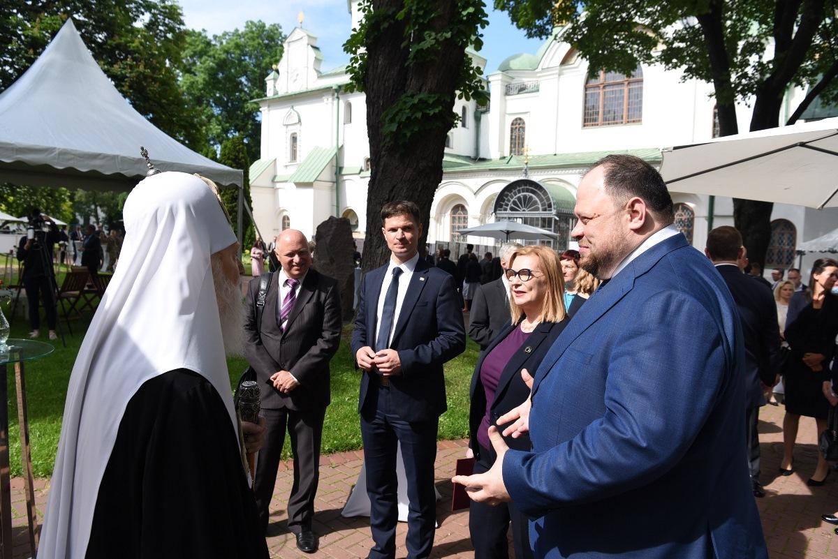 Патріарх Філарет відвідав урочистий прийом із нагоди 230-ї річниці ухвалення Конституції 3 Травня