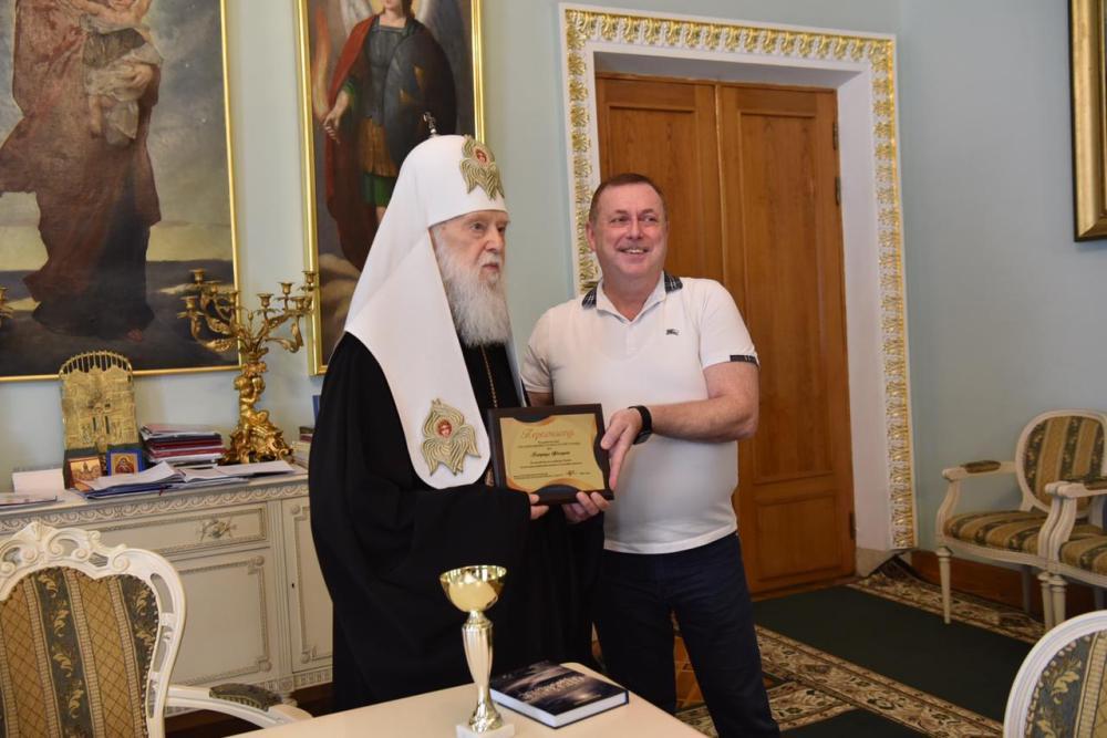 Патріарх Філарет увійшов у Топ-20 впливових людей Києва