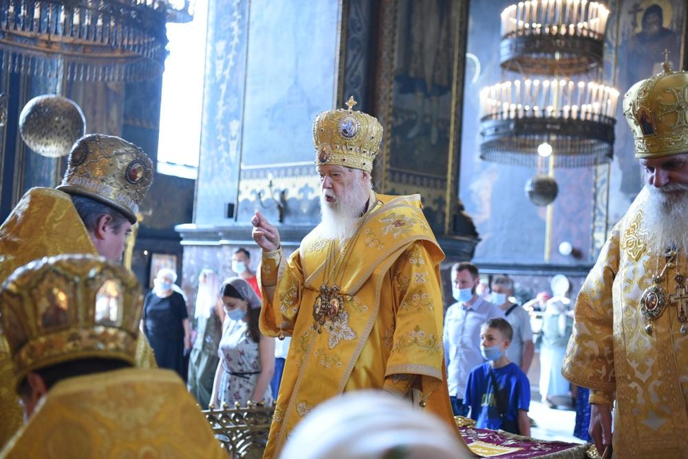 Патріарше богослужіння у неділю всіх святих
