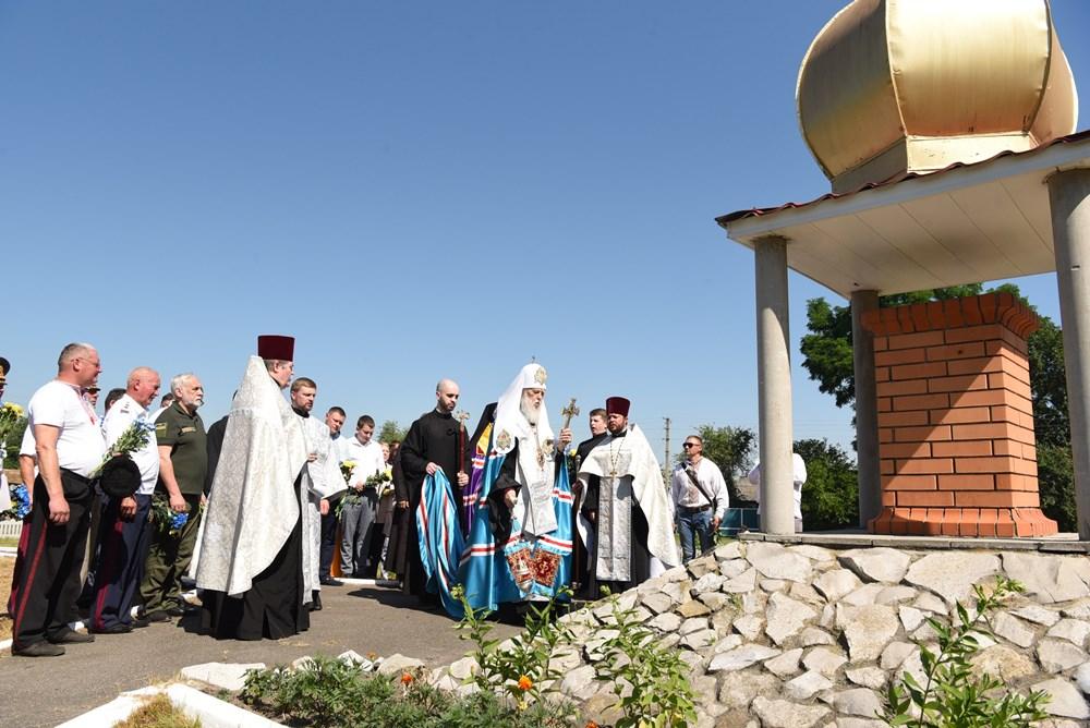 Патріарх Філарет взяв участь у святкових заходах з нагоди 362-ї річниці Конотопської битви