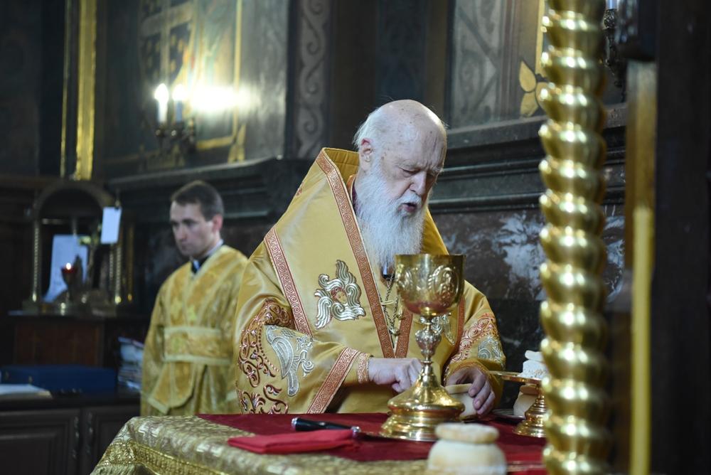 Патріарше богослужіння в п'яту неділю після П'ятидесятниці