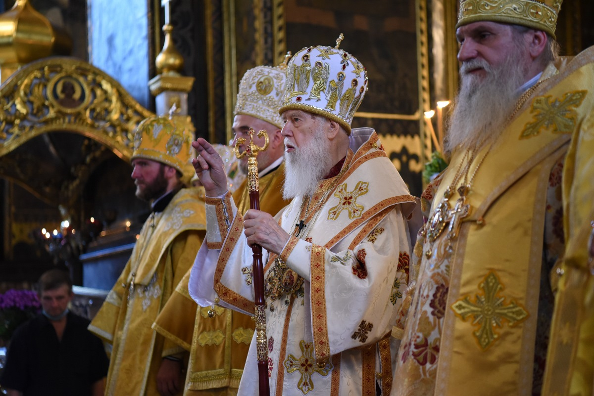 Патріарх Філарет очолив Всенічне бдіння напередодні дня пам'яті святого рівноапостольного князя Володимира