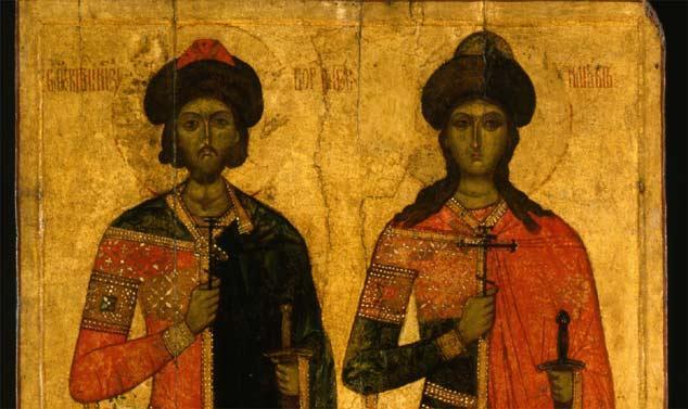 Святі благовірні князі-страстотерпці Борис і Гліб
