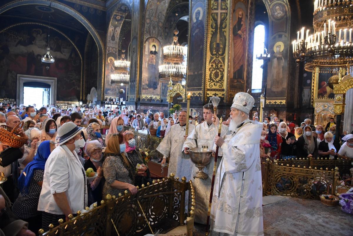 У день свята Преображення Господнього Святійший Патріарх Філарет звершив урочисте богослужіння