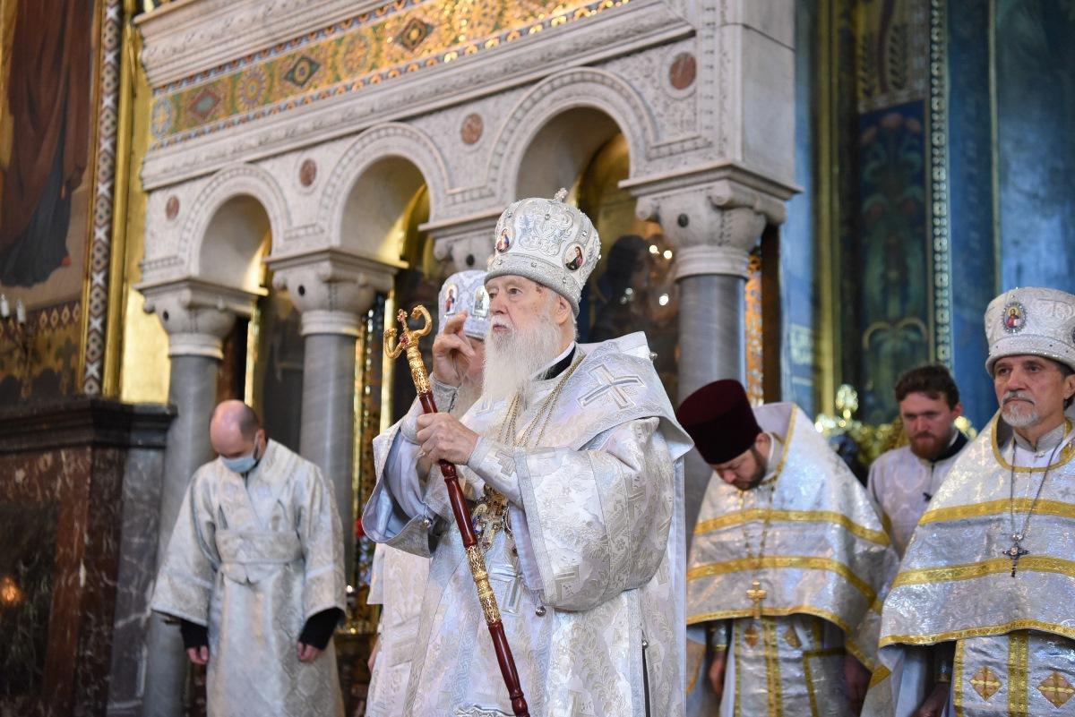 """""""Якщо будемо мати міцну віру, непохитну, то Бог буде з нами і все буде добре"""" – Патріарх Філарет"""