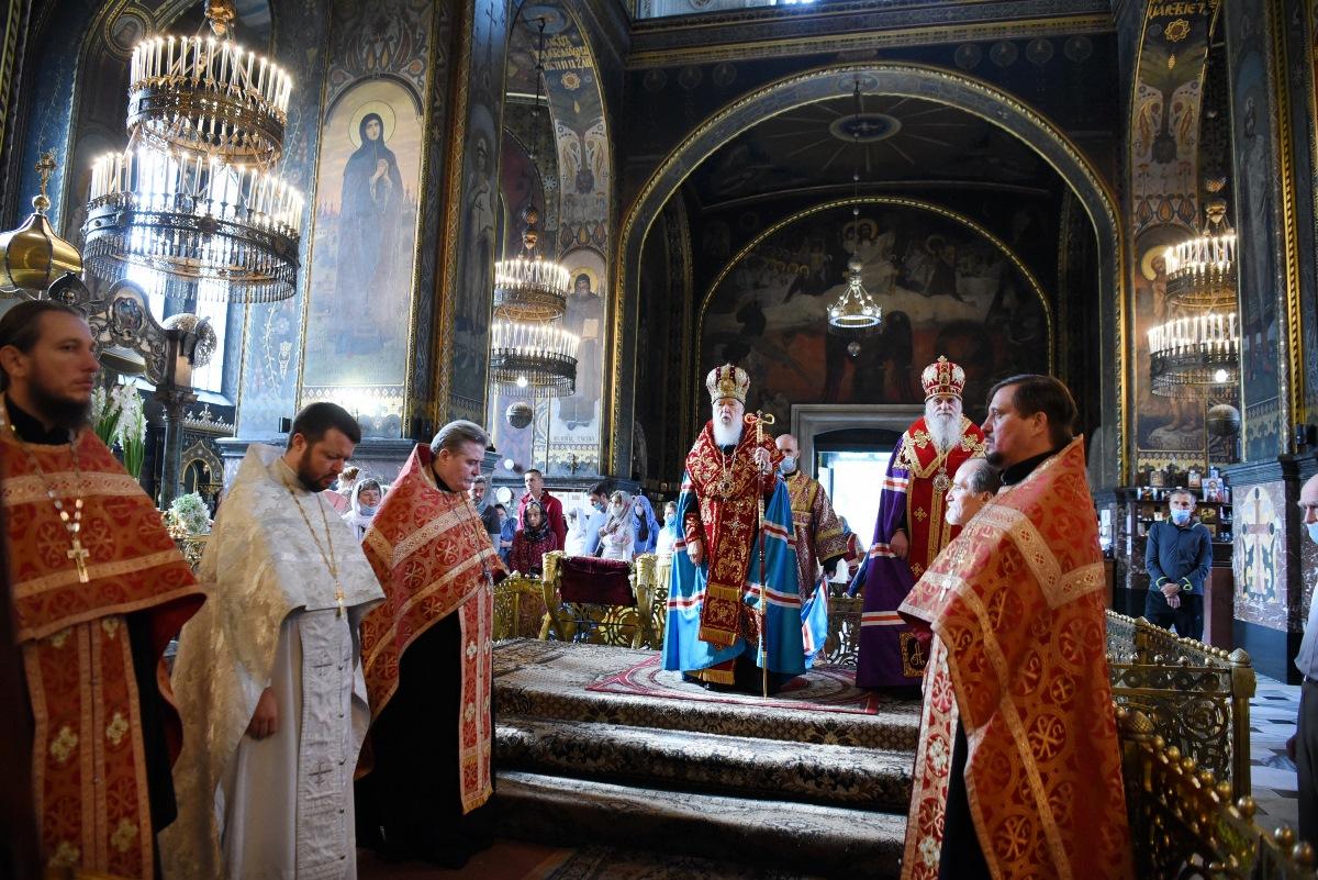 У день 30-ої річниці Незалежності України Патріарх Філарет звершив подячний молебень