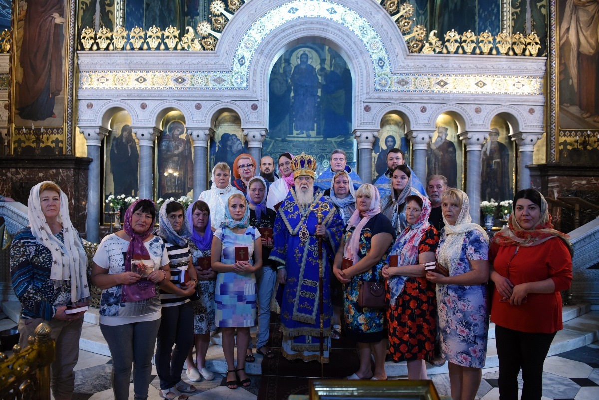 Патріарх Філарет звершив молебень за зниклих безвісти і полонених захисників України