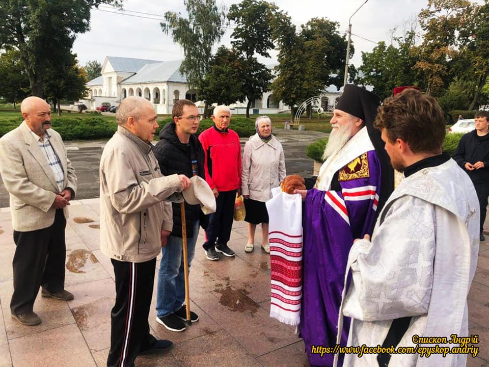 Архиєпископ Переяславський і Білоцерківський Андрій відвідав новостворену парафію Київського Патріархату у м. Біла Церква