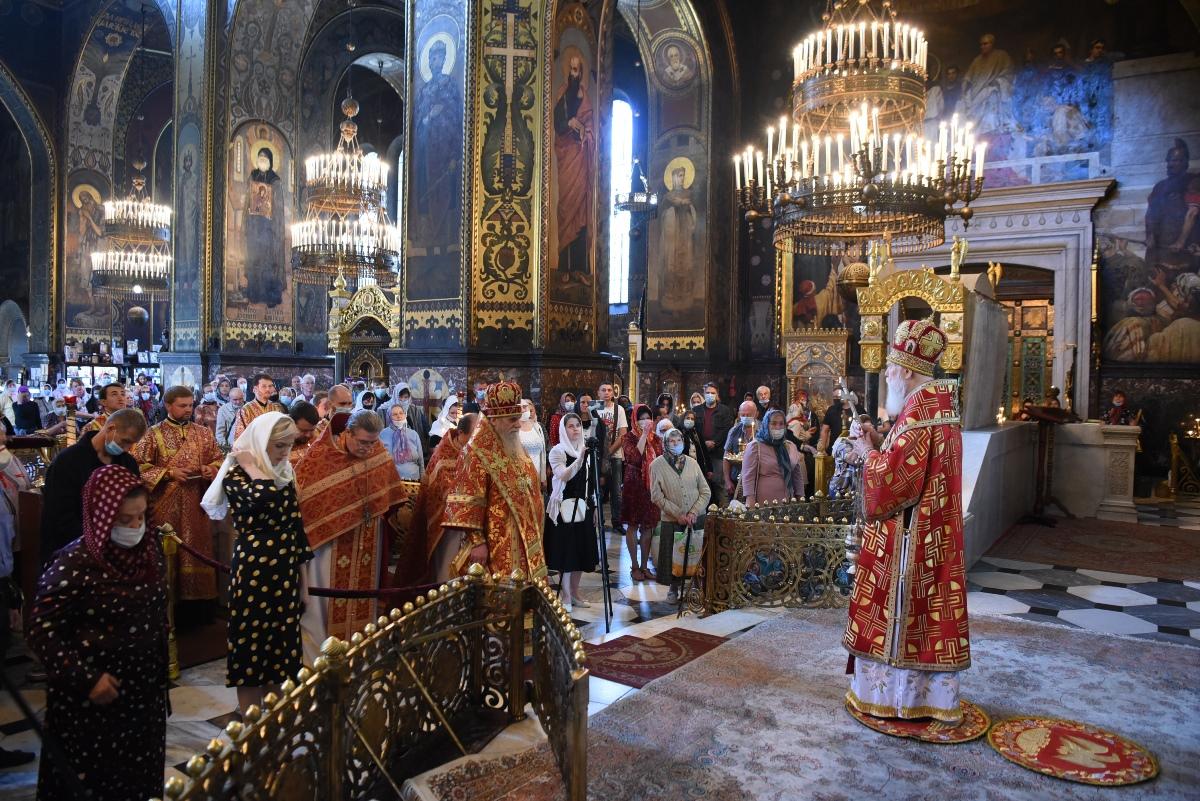Патріарше богослужіння в день Усікновення глави святого Іоана Хрестителя