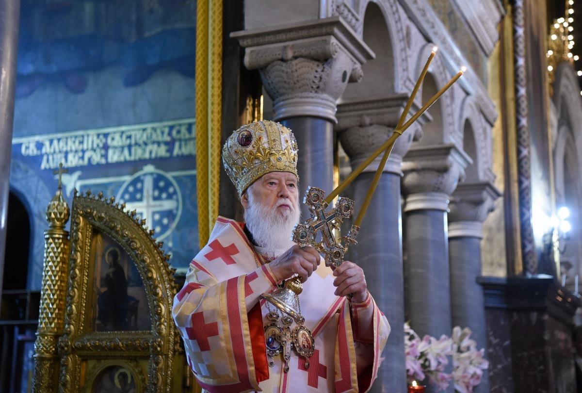 """""""Ми повинні твердо дотримуватися заповідей Божих та відкидати всяке зло і розпусту"""" – Патріарх Філарет"""