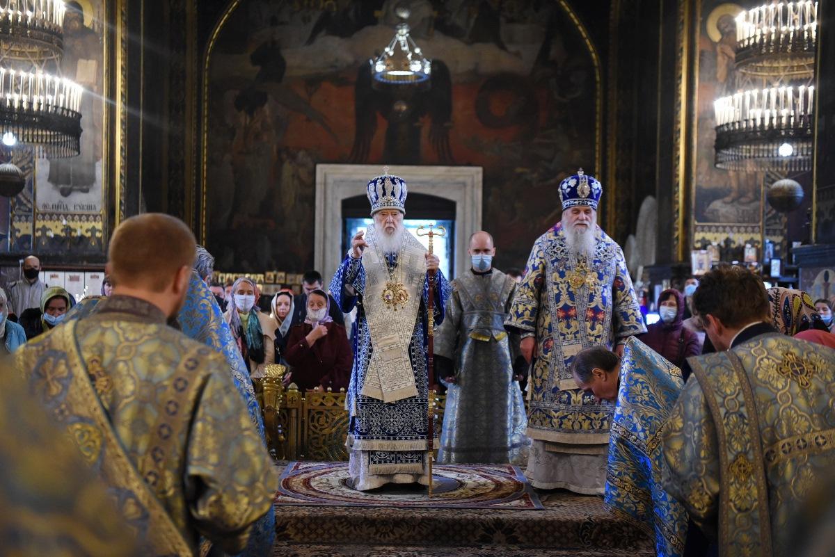 Патріарше богослужіння в день Різдва Пресвятої Богородиці