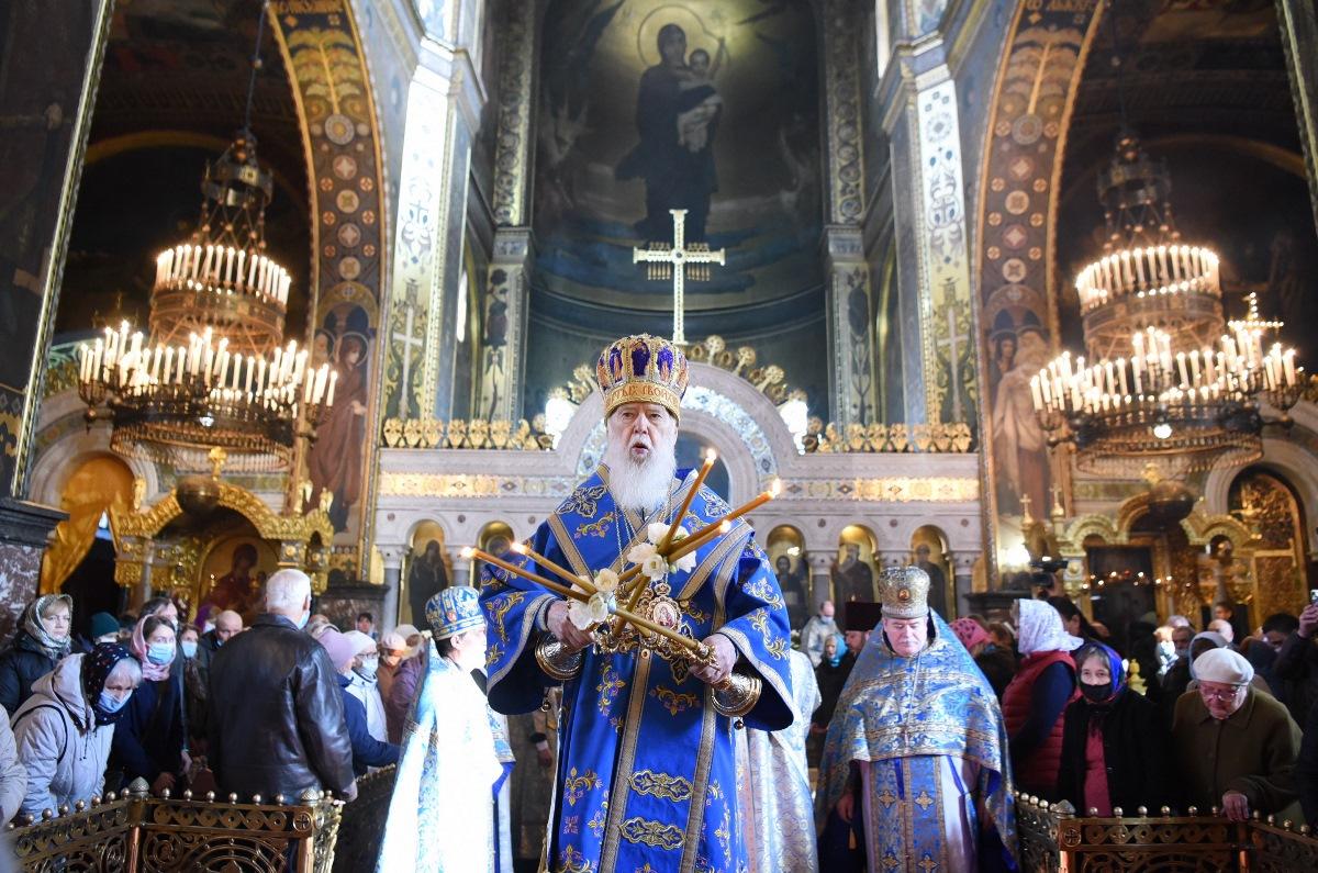 Патріарше богослужіння у день свята Покрови Пресвятої Богородиці