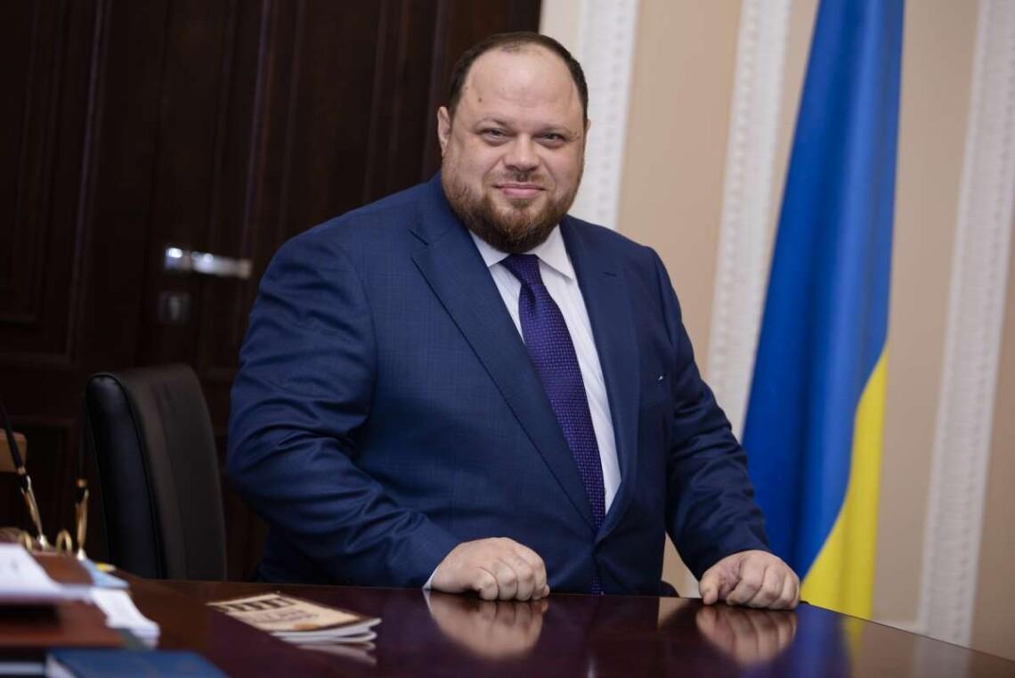 Святійший Патріарх Філарет привітав Р. О. Стефанчука з обранням Головою Верховної Ради України